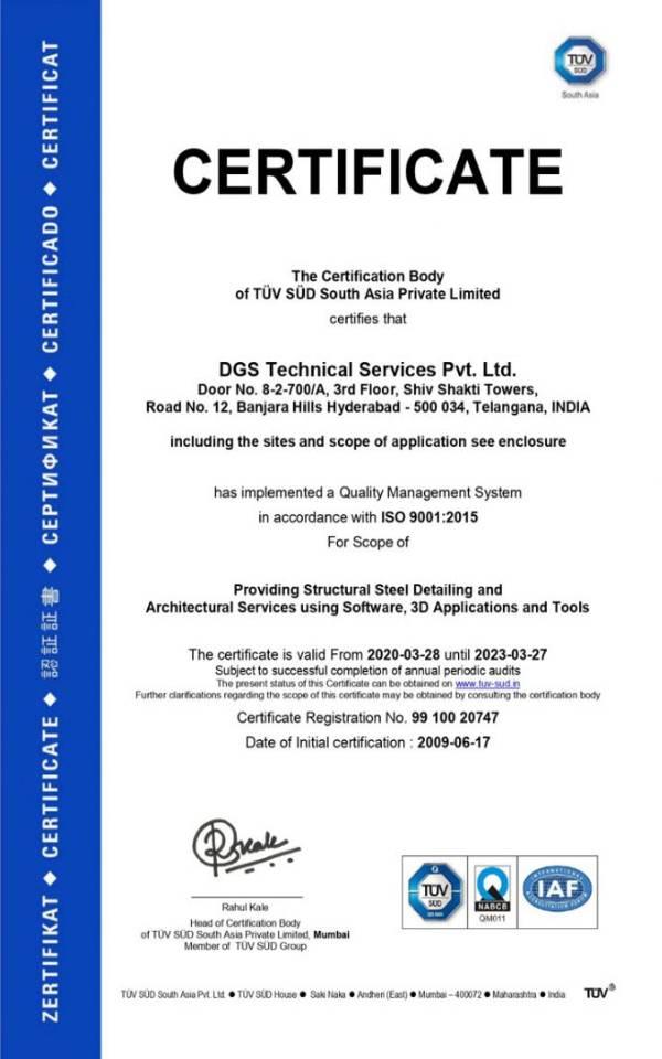 ISO-TUV 9001-2015