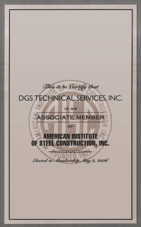Active Member-American Institute of Steel Construction
